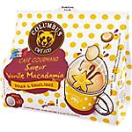 Dosettes de café Non décafeiné COLUMBUS Vanille Macadamia   10 Unités
