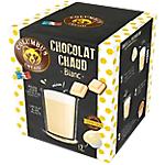 Dosettes de chocolat Non décafeiné COLUMBUS Blanc   12 Unités