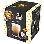 Dosettes de café Non décafeiné COLUMBUS Latte   16 Unités