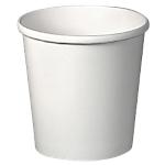 Gobelets jetables ELAMI 120 6,1 x 6,1 x 6 cm Blanc   50 Unités
