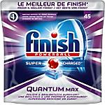 Tablette pour lave vaisselle Finish Quantum Max   45 Unités