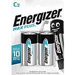 Piles alcalines Energizer Max Plus C