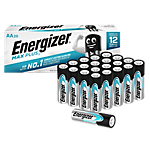 Piles alcalines Energizer Max Plus AA   20 Unités