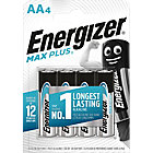 Piles alcalines Energizer Max Plus AA