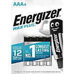 Piles alcalines Energizer Max Plus AAA
