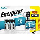 Piles alcalines Energizer Max Plus AAA   8 Unités