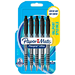 Stylo bille rétractable Paper Mate FlexGrip Ultra Noir   5 Unités