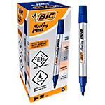 Marqueur permanent BIC Marking Pro Biseautée   12 Unités