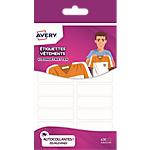 Étiquettes vêtements Avery ETVET36 A6 Blanc 50 x 13 mm 36 Unités