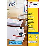 Étiquettes pour timbres Avery J8159 15 63,5 x 33,9 mm Blanc 63,5 x 33,9 mm 15 Feuilles de 24 Étiquettes