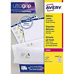 Étiquettes adresse mini Avery L7651 15 38,1 x 21,2 mm Blanc 38,1 x 21,2 mm 15 Feuilles de 65 Étiquettes