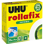 Ruban adhésif Rollafix Transparent 33m UHU