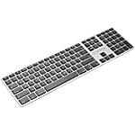 Clavier sans fil Sans fil XtremeMac Bluetooth Mac Noir, gris