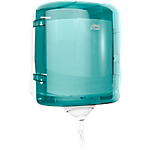 Distributeur à dévidage central feuille à feuille Tork Reflex™ M4 Turquoise