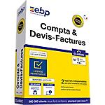 Logiciel de gestion EBP Compta & devis factures Classic   Dernière version Windows