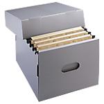 Conteneur de boîtes à archives Extendos Blanc 27 cm 5 Unités