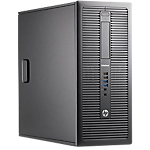 PC de bureau reconditionné HP Elite Desk 800 G1   Grade A3 Intel Core i7 4770S 128 8 Windows 7 Pro