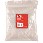 Sachets zip Plastique APLI 6 x 8 cm Transparent   100 Unités