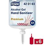 Gel hydroalcoolique bactéricide et virucide S1 Tork S1 Gel 6 Unités de 1 L