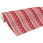 Papier cadeau Clairefontaine 700 mm x 50 m Blanc, rouge
