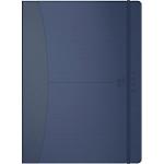 Agenda OXFORD Signature 2020 1 Semaine sur 2 pages 18 x 25 cm Bleu