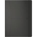 Agenda OXFORD Signature 2020 1 Semaine sur 2 pages 18 x 25 cm Noir