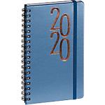 Agenda semainier Exacompta Millénium 2020 9 x 16 cm Bleu