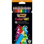 Crayons de couleur BIC Color Up! Assortiment   12 Unités