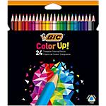 Crayons de couleur BIC Color Up! Assortiment   24 Unités