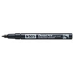 Marqueur permanent Pentel Pen N50S Conique 1 mm Noir