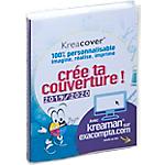 Couverture amovile Exacompta Forum Kreacover 1 Jour par page 12 x 17 cm Transparent
