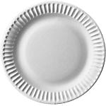 Assiettes Carton PAPSTAR Pure Blanc   100 Unités