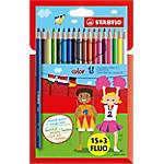 Crayons de couleur STABILO Color Assortiment   18 Unités