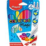 Feutres magiques Maped Color'Peps Conique Assortiment   10 Unités