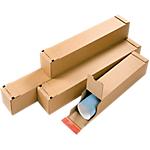 Tube postal carré Carton 108 (l) x 108 (P) x 860 (H) mm Marron