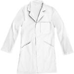 Blouse blanche mixte 100 % coton Wonday Taille XS Blanc