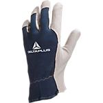 Gant Deltaplus Cuir de chèvre, jersey Taille 11 Naturel, bleu