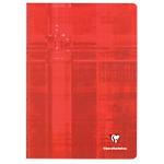 Cahier grands carreaux piqué Clairefontaine A4 Coloris aléatoire 96 Pages   48 Feuilles