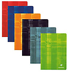 Cahier Clairefontaine Metric A4 5 x 5 Dos 6 assortiments   48 Feuilles