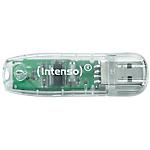 Clé USB Intenso Rainbow Line 32 Go Transparent