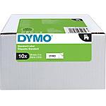 Ruban encreur DYMO Standard D1 19 mm 10 Rouleaux