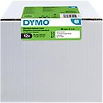 Etiquettes d'adresse DYMO LabelWriter LW 89 x 28 mm Blanc   12 Rouleaux de 130 Étiquettes