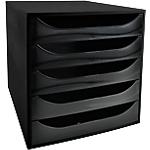 Module de classement Office Depot 28,4 x 34,8 x 29 cm Noir