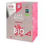 Café CAFÉ ROYAL Espresso Bio   36 Unités