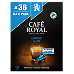 Capsules de café Lungo CAFÉ ROYAL   36 Unités