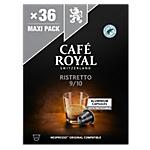 Capsules de café Ristretto CAFÉ ROYAL   36 Unités