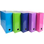 Boîte de transfert Exacompta Iderama 90 mm 25 x 33 cm Coloris aléatoire