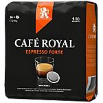 Dosettes café CAFÉ ROYAL PRO Espresso Forte   36 Unités
