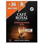 Capsules de café Espresso forte CAFÉ ROYAL   36 Unités