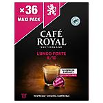 Capsules de café Lungo forte CAFÉ ROYAL   36 Unités